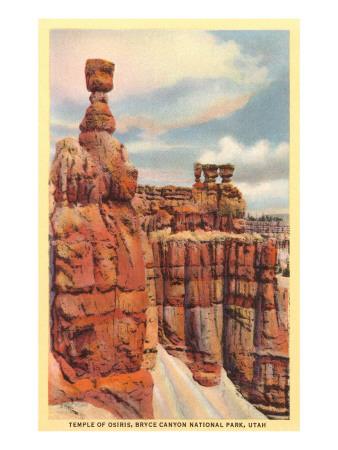 Temple of Osiris, Bryce Canyon, Utah Art
