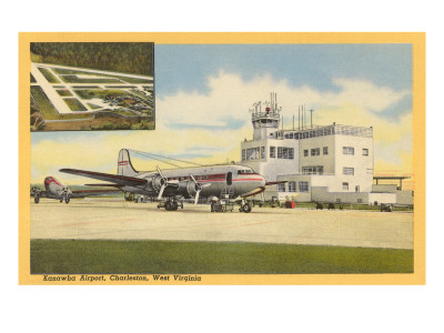 Kanawha Airport, Charleston, West Virginia Premium Poster