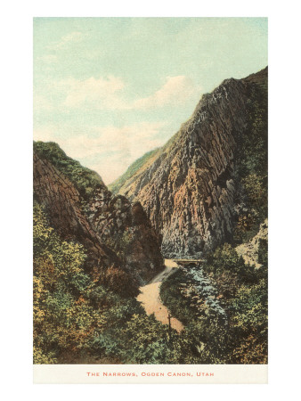 The Narrows, Ogden Canyon, Utah Prints