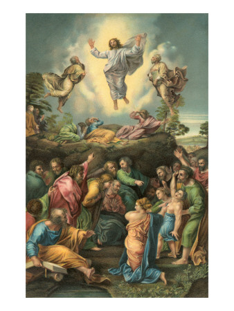 Ascension of Jesus into Heaven Posters