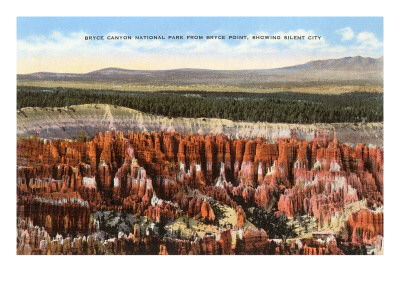 Silent City, Bryce Canyon, Utah Posters