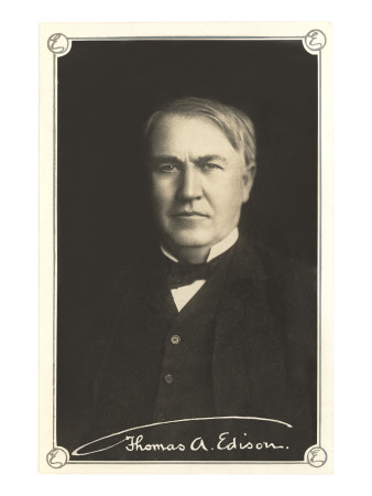 Photograph of Thomas Edison Posters