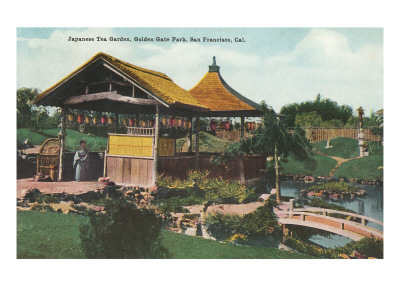 Japanese Tea Garden, San Francisco, California Prints