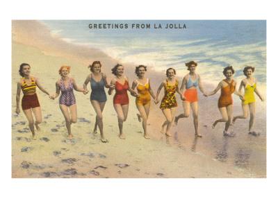 Greetings from La Jolla, California Print