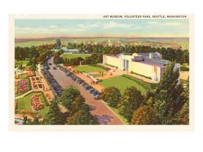 Art Museum, Volunteer Park, Seattle, Washington Prints