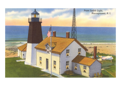 Pt. Judith Lighthouse, Narragansett, Rhode Island Posters