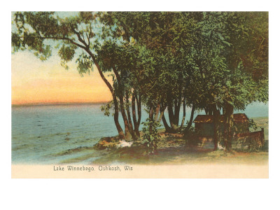 Lake Winnebago, Oshkosh, Wisconsin Print