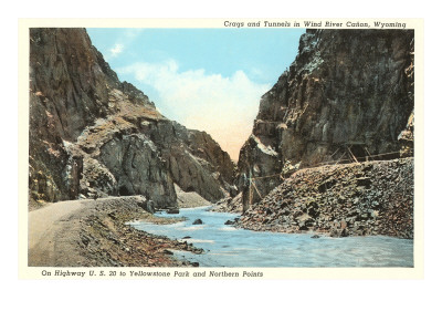 Wind River Canyon, Wyoming Art
