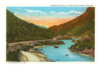 Wind River Canyon, Wyoming Posters