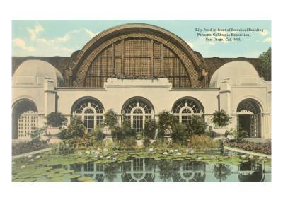 Botanical Building, Balboa Park, San Diego Posters