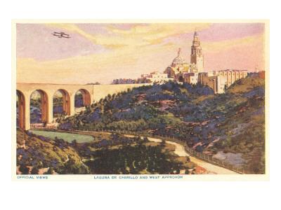 View over Balboa Park, San Diego, California Prints