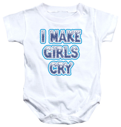 Infant: I Make Girls Cry Infant Onesie