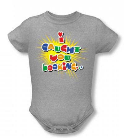 Infant: Caught Looking Infant Onesie