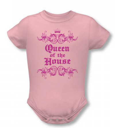 Infant: Queen Of The House Infant Onesie