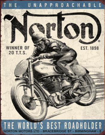 Norton - Winner Plechová cedule