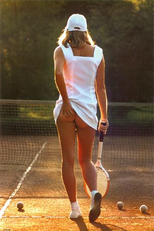 Tennis Girl Photo