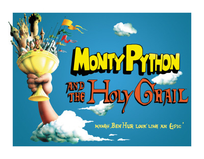Monty Python - Holy Grail Poster Tin Sign
