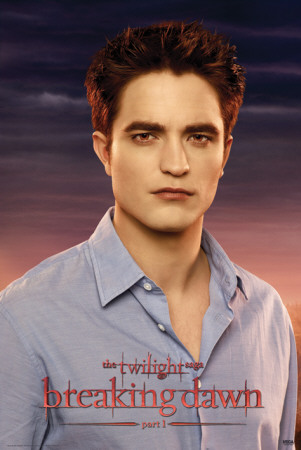 Twilight Breaking Dawn-Edward Affiche