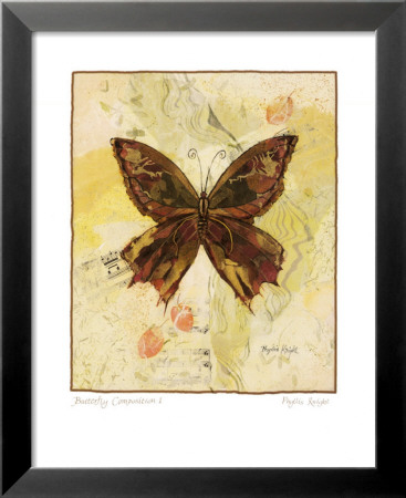 Butterfly I Lamina Framed Art Print