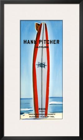 Jaffurs Wine Cellars, Red, 2005 Art by Hank Pitcher