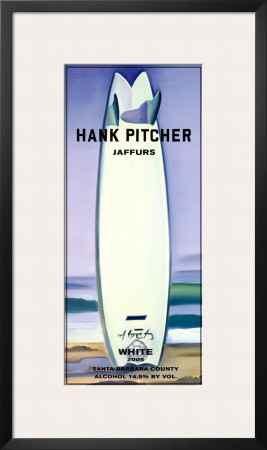 Jaffurs Wine Cellars, White, 2005 Prints by Hank Pitcher