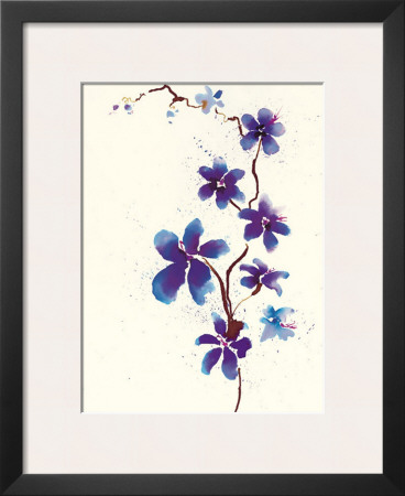 Oriental Blossom Art by Olivia Wade