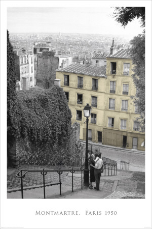 Montmartre-Paris Plakat