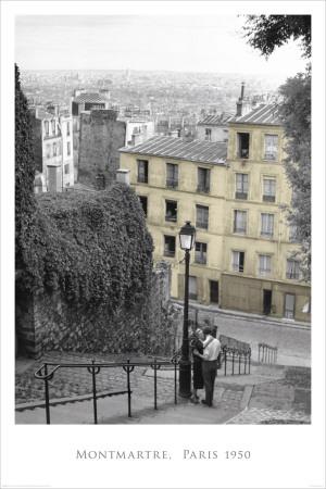Montmartre-Paris Póster