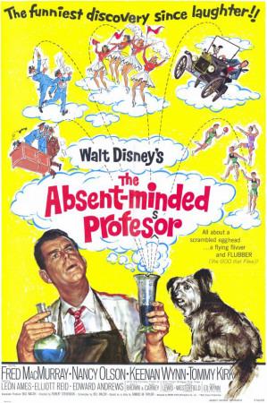 The Absent-Minded Professor Masterprint
