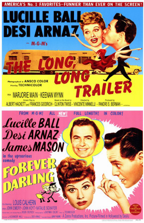 The Long, Long Trailer/Forever, Darling Photo