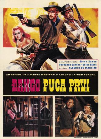 Django Shoots First Masterprint