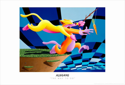 The Way To Go Masterprint by Ausgang Anthony