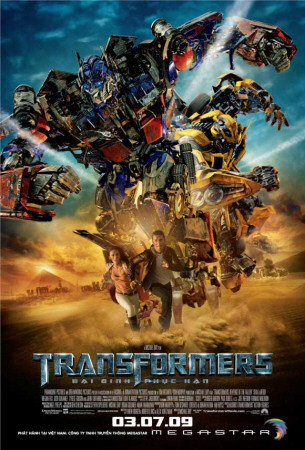 Transformers 2- Revenge of the Fallen Masterprint
