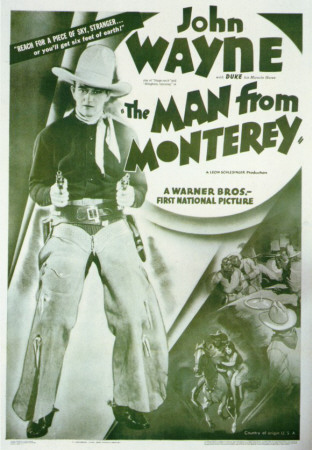 Man From Monterey Masterprint