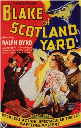 Blake of Scotland Yard Masterprint