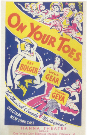 On Your Toes Masterprint