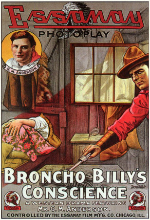 Broncho Billy's Conscience Masterprint