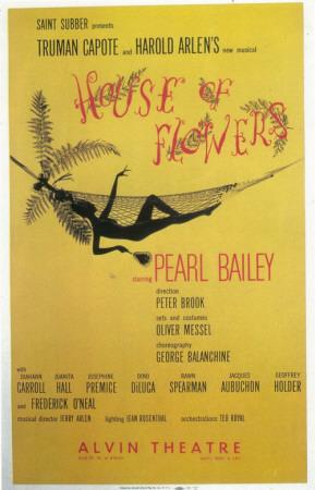 House Of Flowers Masterprint