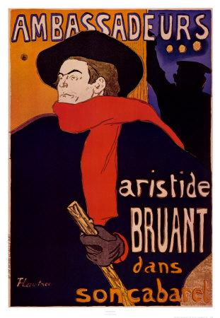 Ambassadeurs Print by Henri de Toulouse-Lautrec