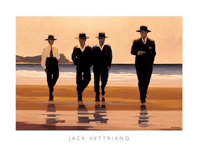 Billy Boys Poster by Jack Vettriano