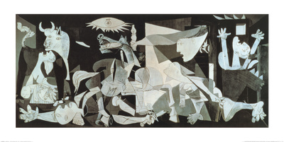 Guernica, ca.1937 Kunstdruk