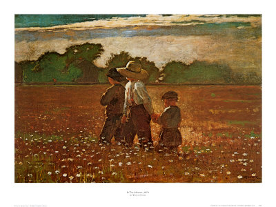In the Mowing Posters by Winslow Homer