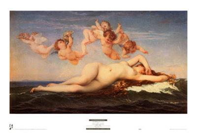 La Naissance de Venus Posters by Alexandre Cabanel