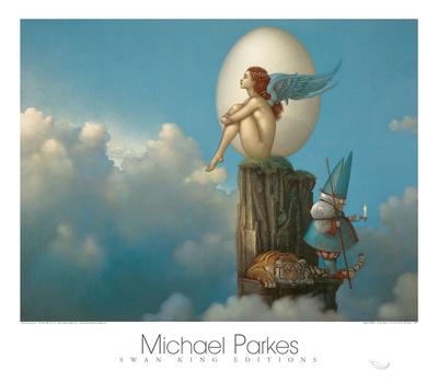 Magic Spring Print by Michael Parkes