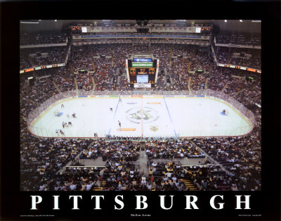 Mellon Arena - Pittsburgh, Pennsylvania Prints