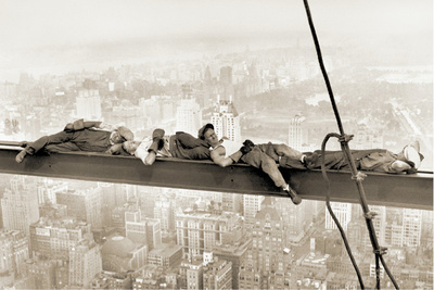 Men on Girder, 1930 Prints