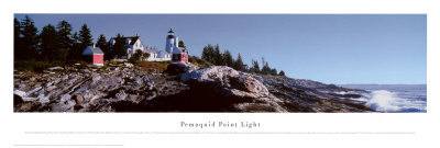 Pemaquid Point Light Prints