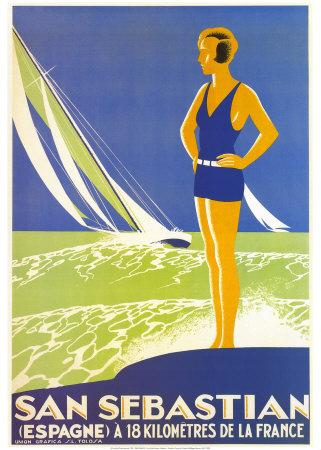 San Sebastian Posters