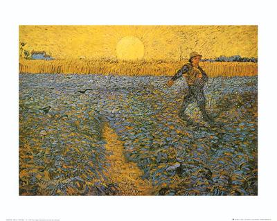 The Sower, c.1888 Art by Vincent van Gogh
