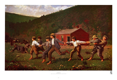 Snap the Whip Prints by Winslow Homer